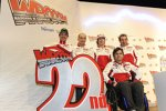 Valentino Rossi, Claudio Domenicali, Nicky Hayden, Filippo Preziosi und Vittoriano Guareschi