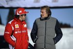 Fernando Alonso und Luca di Montezemolo (Präsident)