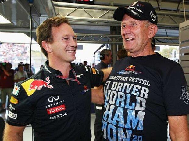 Helmut Marko (Motorsportchef), Christian Horner (Teamchef)