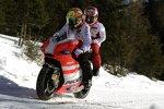 Valentino Rossi und Nicky Hayden