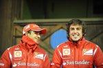 Felipe Massa und Fernando Alonso