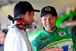 Matt Kenseth und Motorentechniker Doug Yates