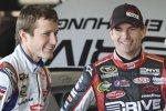 Kasey Kahne und Jeff Gordon in der Hendrick-Garage
