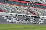 Die NASCAR-Piloten probten auch am Samstag das Pack-Racing