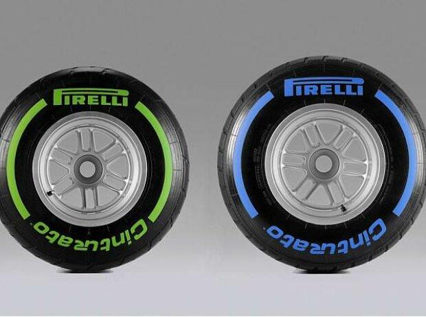 Intermediate und Regenreifen von Pirelli