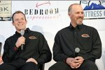 Regan Smith (Furniture Row) und sein Crewchief Pete Rondeau
