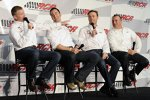 Jeff Burton, Paul Menard, Kevin Harvick und Childress-Rennchef Mike Dillon