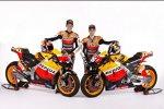 Casey Stoner (Honda) und Daniel Pedrosa (Honda)
