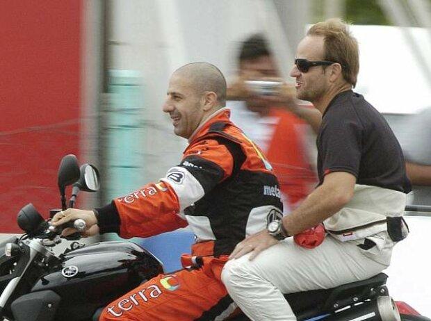 Tony Kanaan und Rubens Barrichello