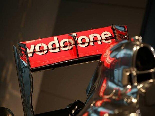 Vodafone-Logo am McLaren-Mercedes MP4-27