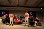 Lewis Hamilton (McLaren) Jenson Button (McLaren)