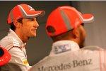 Jenson Button und Lewis Hamilton (McLaren)