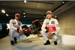 Lewis Hamilton und Jenson Button (McLaren)