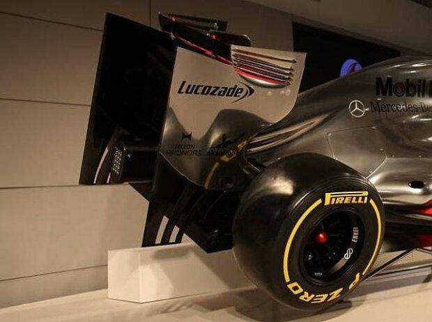 Heck des McLaren-Mercedes MP4-27