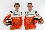 Nico Hülkenberg und Paul di Resta (Force India)