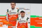 Paul di Resta und Nico Hülkenberg (Force India)