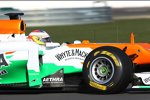 Roll-out des Force India-Mercedes VJM05 mit Paul di Resta am Steuer