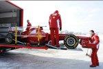 Ferrari F2012 auf dem Weg nach Jerez