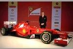 Technikchef Pat Fry und der Ferrari F2012