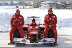 Felipe Massa, Fernando Alonso und der Ferrari F2012