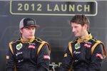 Kimi Räikkönen und Romain Grosjean (Lotus)