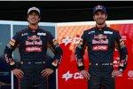 Daniel Ricciardo (Toro Rosso) Jean-Eric Vergne (Toro Rosso)
