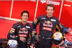 Daniel Ricciardo und Jean-Eric Vergne (Toro Rosso)