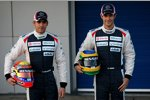 Pastor Maldonado und Bruno Senna (Williams)