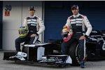 Bruno Senna und Pastor Maldonado (Williams)