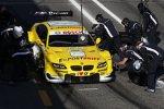 Der BMW M3 DTM bei Testfahrten in Estoril