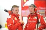 Pat Fry und Steve Clark (Ferrari)