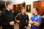 Ryan Hunter-Reay, Marco Andretti und Mike Conway