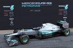 Der neue Mercedes F1 W03