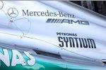 Detail des Mercedes F1 W03