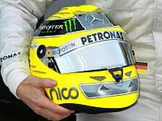 Helm von Nico Rosberg