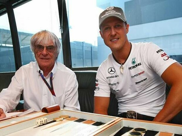 Bernie Ecclestone (Formel-1-Chef), Michael Schumacher
