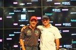 Tony Kanaan und Rubens Barrichello: Die beiden Kumpel sind nun auch Teamkollegen