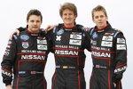 Alex Brundle, Lucas Ordonez und Tom Kimber-Smith (Greaves Zytek-Nissan)