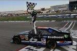 Nationwide-Champion Ricky Stenhouse (Roush) feierte seinen ersten Saisonsieg