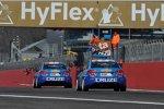 Yvan Muller (Chevrolet), Robert Huff (Chevrolet)