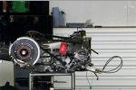 Getriebe und Heckaufhängung eines Force India VJM05