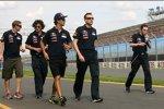 Daniel Ricciardo (Toro Rosso) besichtigte die Strecke