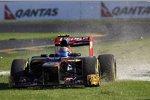 Jean-Eric Vergne (Toro Rosso) macht Im Australien-Rennen Bekanntschaft mit der