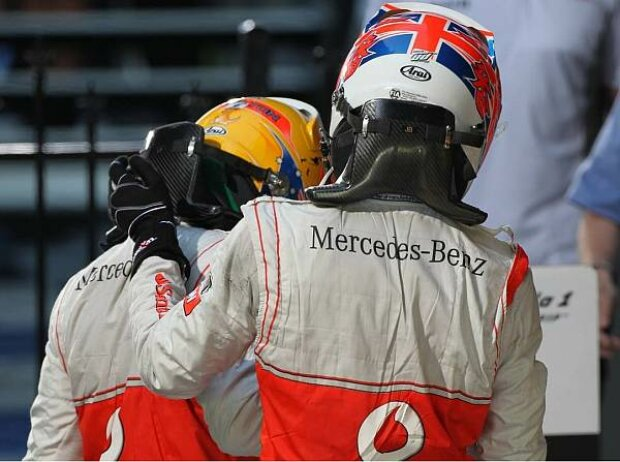 Lewis Hamilton, Jenson Button