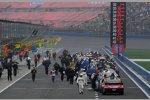 Die Sprint-Cup-Autos mussten nur kurz in der Pitlane stehenbleiben