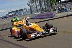 Ryan Hunter-Reay (Andretti) vor James Hinchcliffe (Andretti)