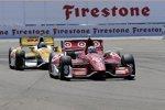 Scott Dixon (Ganassi) vor Ryan Hunter-Reay (Andretti)