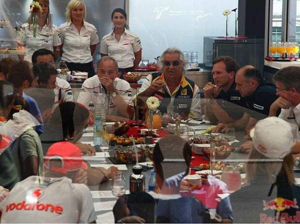 FOTA-Meeting mit den Fahrern in Istanbul