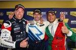 Tom Coronel (ROAL), Alain Menu (Chevrolet), Stefano D'Aste (Wiechers)