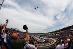 Pre-Race-Ceremonies: Der Fly-Over